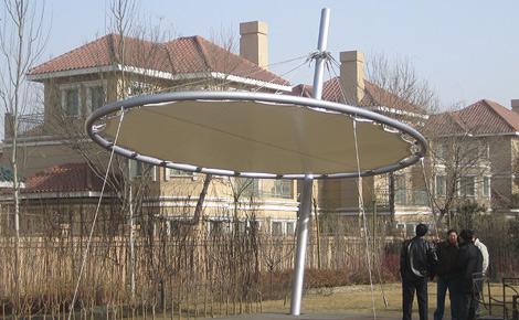 Membrankonstruktion, Beijing: Konstruktion